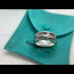 Tiffany & Co. Jewelry - ❌SOLD❌Tiffany & Co. .925 Titanium Concave Ring